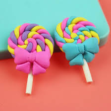 Fake Lollipop Decorations Candy Fimo Online Candy Fimo For Sale