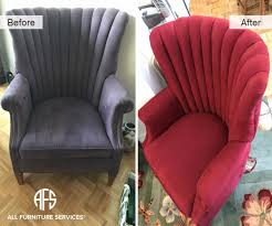 change upholstery on chair gallery before after pictures all furniture services