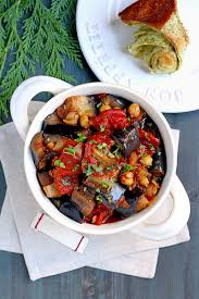 lebanese eggplant stew two of a kind