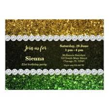 rustic gold wood grain engagement party invitation