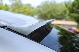 08 09 honda accord 8th 2d coupe painted rear roof spoiler wing