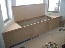 Build A Storage Bench Window Bench Seat With Storage Style Build Window Bench Seat