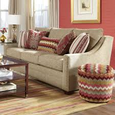 antiquitã ten sofa craftmaster 7336 transitional sofa with oversized nailheads and