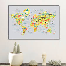 World Map Canvas Art by Online Get Cheap Map Art Aliexpress Com Alibaba Group