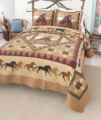 western quilt kits country cowboy western quilt set running