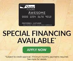 financing yates flooring center