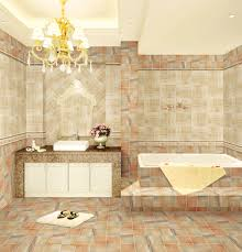 small beige bathroom tiles from manufacturer in china