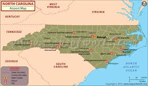 usa carolina map carolina airports map airports in carolina airports