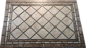 tile medallion backsplash gallery tile flooring design ideas