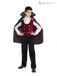 boys vampire costume age 4 14 halloween fancy dress costume count