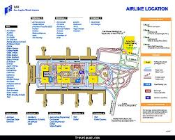 lax gate map l a x terminal map hd template images travel map