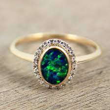 black opal engagement rings opal engagement ring ideas collections