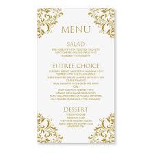 menu card templates menu cards templates wedding menu card templates free i10 menu