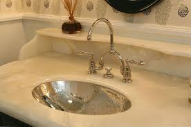 hammered nickel bathroom sink hammered oval sink transitional bathroom giannetti home in hammered