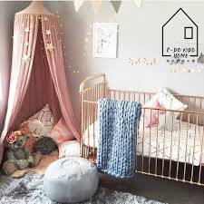 240cm height natural cotton kids play tent mosquito net bedroom