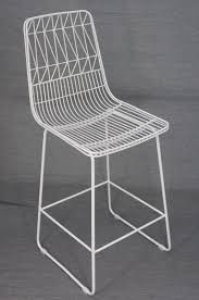 Net Outdoor Stool Replica Bend Wire Lucy Kitchen Bar High Cm - Bend furniture