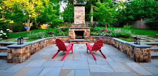 Patio Flagstone Designs Flagstone Patio Installation Northern Virginia Custom Pavers