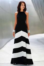 black and white dresses black white chiffon stripe sleeveless maxi casual dress casual