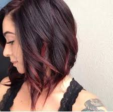 24 ombre hair color styles for short hair 9 red ombre short