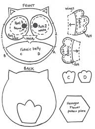 best 25 felt owl pattern ideas on felt patterns free
