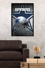 Dallas Cowboys Home Decor Amazon Com Trends International Dallas Cowboys Helmet Wall Poster