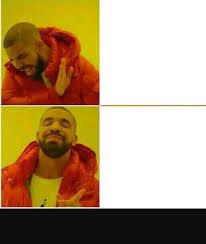 Double Meme - double drake blank template imgflip