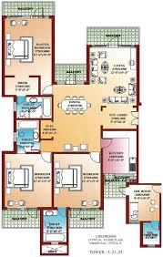 download 3 bedroom house floor plans home intercine designs and