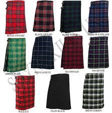 5 yard men u0027s scottish kilts tartan kilt 13oz highland casual kilts