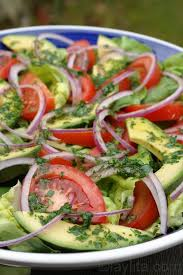 recipe for garden salad with lime cilantro dressing my kids love