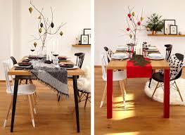 Esszimmer Tisch Deko Minimalistische Tischdeko Für Weihnachten