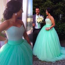 sales empire waist mint long prom dresses ball gown a line