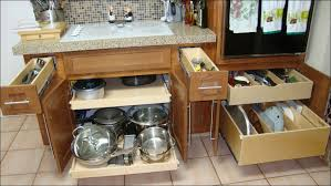 Roll Out Kitchen Cabinet by Kitchen Slide Out Tray Pull Out Cabinet Organizer Ikea Roll Out