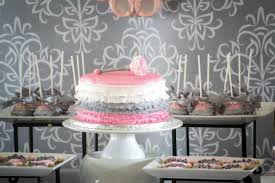 pink and grey baby shower kara s party ideas pink gray princess girl themed baby shower