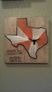Texas Longhorn Home Decor Texas Longhorn String Art Would Be Cute With Kentucky Diy