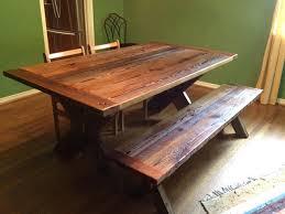 repurposed dining table repurposed wood furniture nordwood