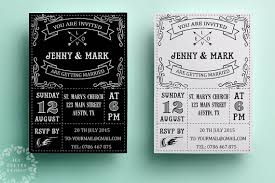 black and white wedding invitations retro wedding invitation template printable wedding invitation