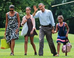 Obama First Family by Malia And Sasha Obama Through The Years Photos Abc News