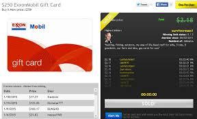gas gift card deals high value gift card deals dealdash tips