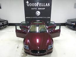 maserati burgundy interior 2012 maserati quattroporte s goodfellas auto group inc