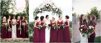 burgundy bridesmaid dresses 20 breathtaking burgundy bridesmaid dresses for fall