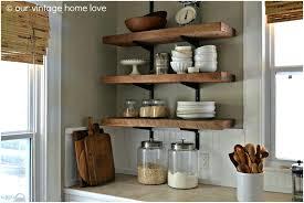 Vintage Wooden Spice Rack Wall Mounted Plate Racks For Kitchens Uk Shelf Kitchen