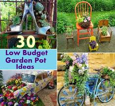 30 fascinating and amazing low budget garden pot ideas to beautify