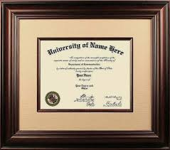 degree frames diploma frames online the gold standard