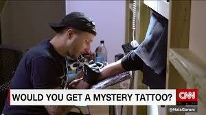 Tattoo Artist Resume Famed Tattoo Artist Gives Away Free Mystery Tattoos Cnn Video