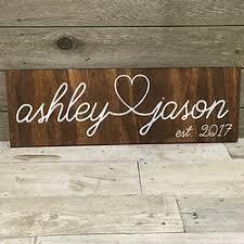 family name signs durham custom wood decor
