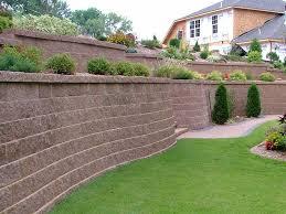 Steep Sloped Backyard Ideas Download Backyard Retaining Wall Ideas Garden Design