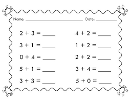 simple math worksheet free worksheets library download and print