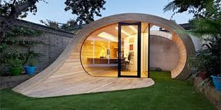 Backyard Office Kit by The Shoffice Shed Office The Collective Loop