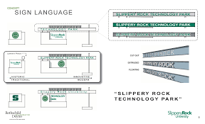 Slippery Rock University Map Slippery Rock University Foundation Technology Park Rothschild