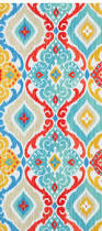 Turquoise Kitchen Ideas Richloom Outdoor Fresca Fiesta Fabric In Vibrant Colors Including